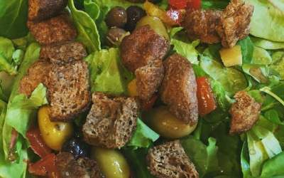 Our New Croutonz Add Paleo, Low-Carb Crunch to Summer Salads