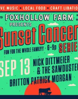September 13th Sunset Concert