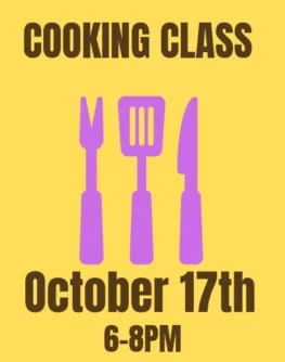 October 17th Farmer and Foodie Cooking Class
