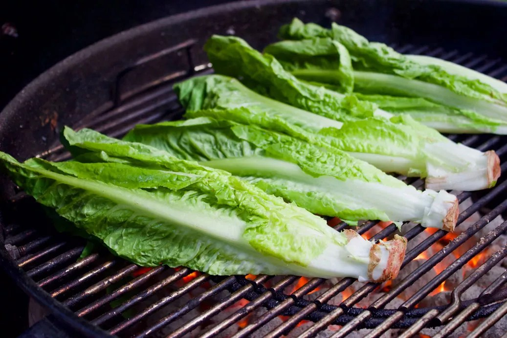Romaine on Grill