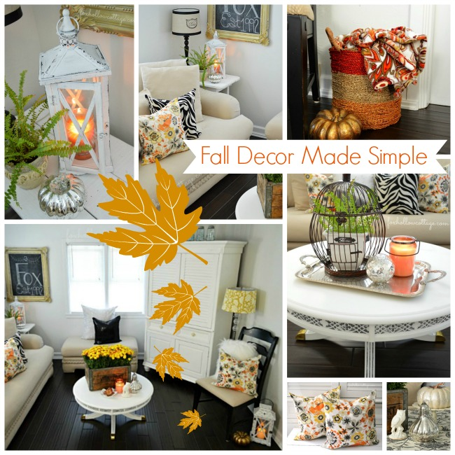 Simple  Easy  Affordable Decorating Ideas for Fall   Fox Hollow Cottage Simple  Easy  Affordable Decorating Ideas for Fall