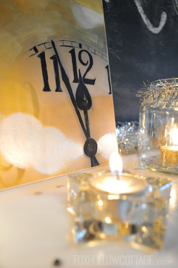Mixed Metals New Year's Eve Mantel Decorating Ideas - Fox ...