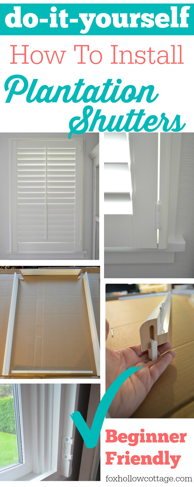 Make Your Own Plantation Shutters Mycoffeepot Org