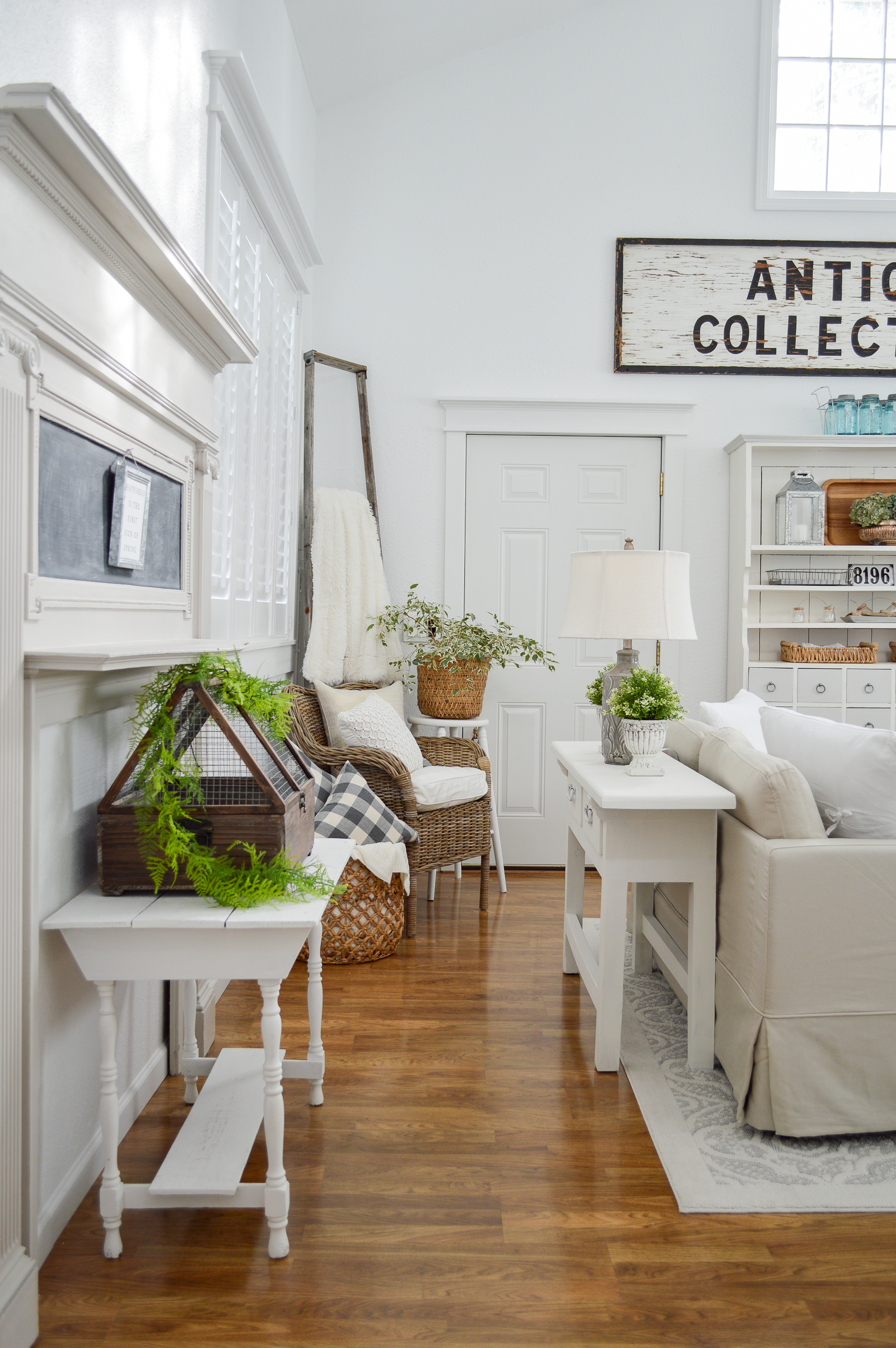 Collected Cozy Cottage Living Room Makeover Fox Hollow