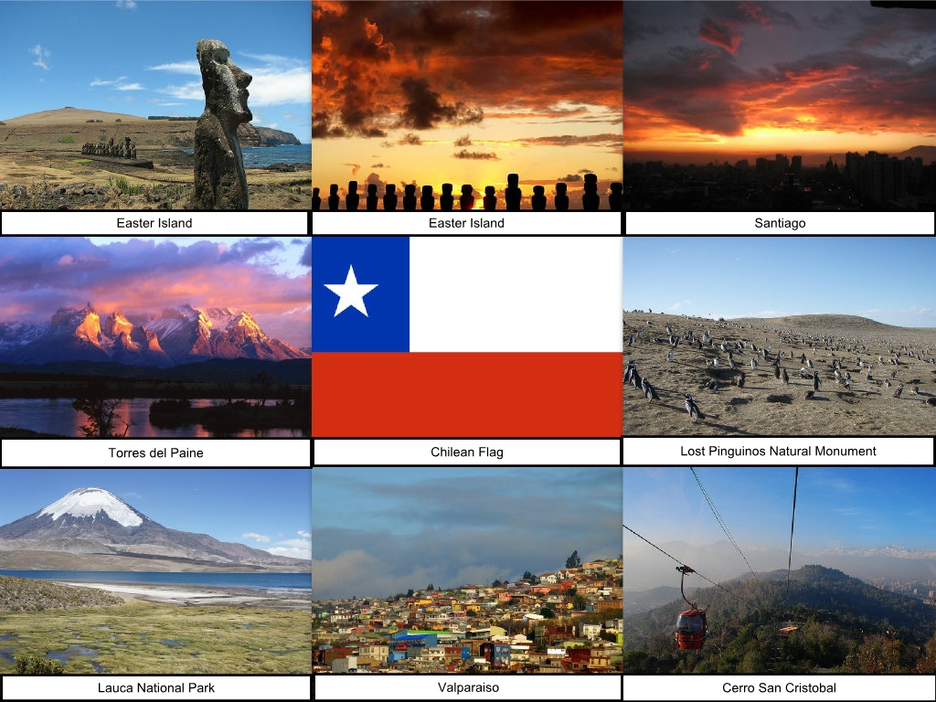 Chile Collage