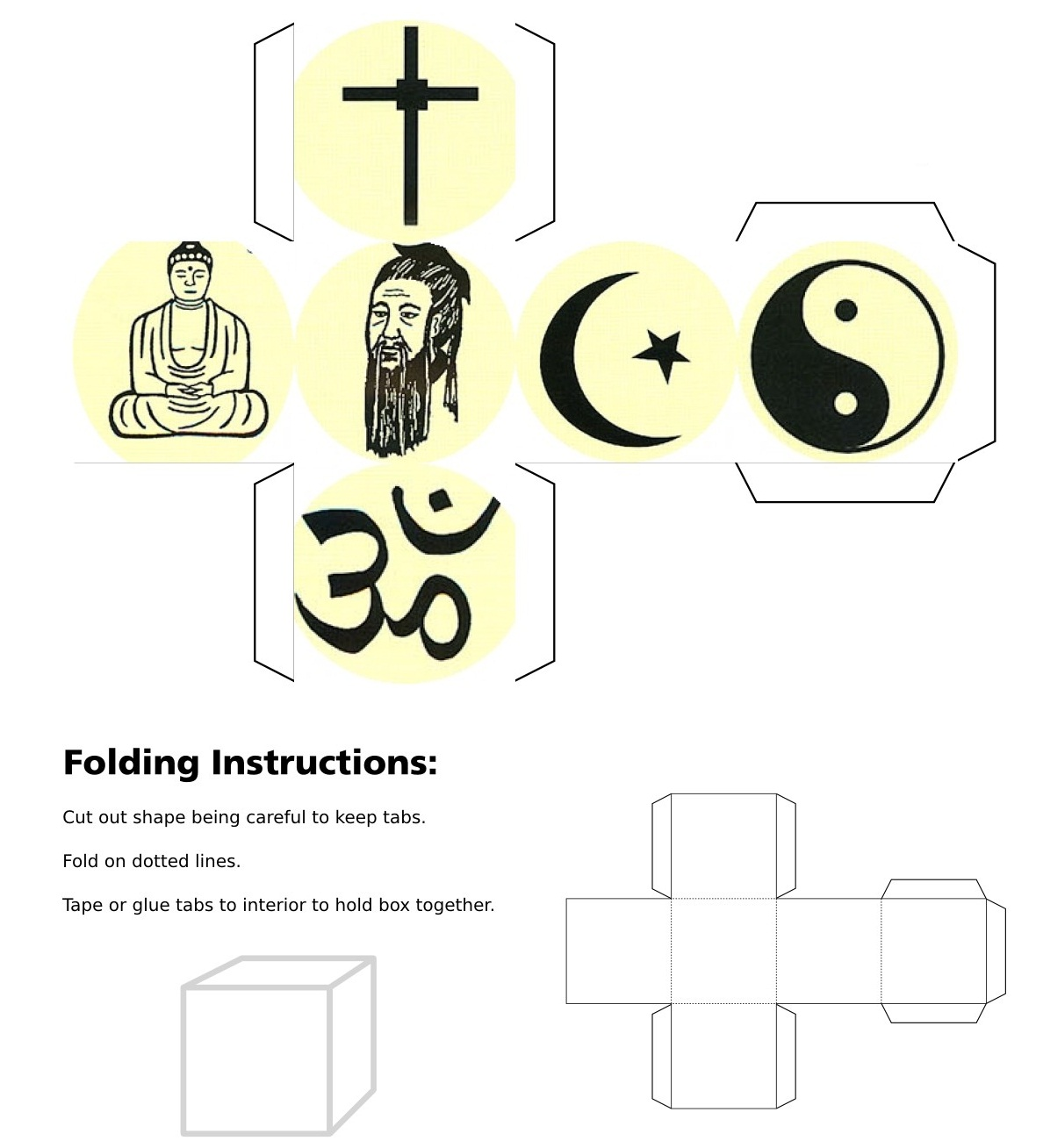 World Religions Worksheet Answers Key