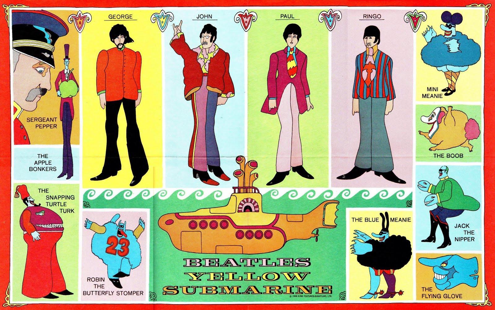 Beatles Yellow Submarine Esl Lesson