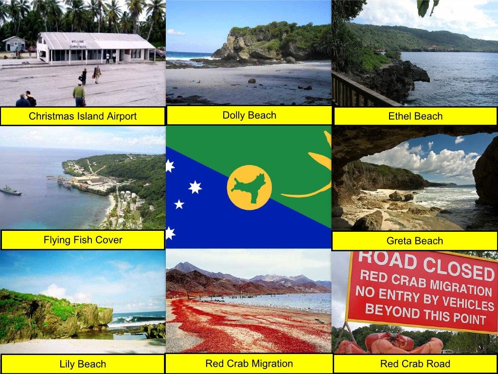 Christmas Island Collage