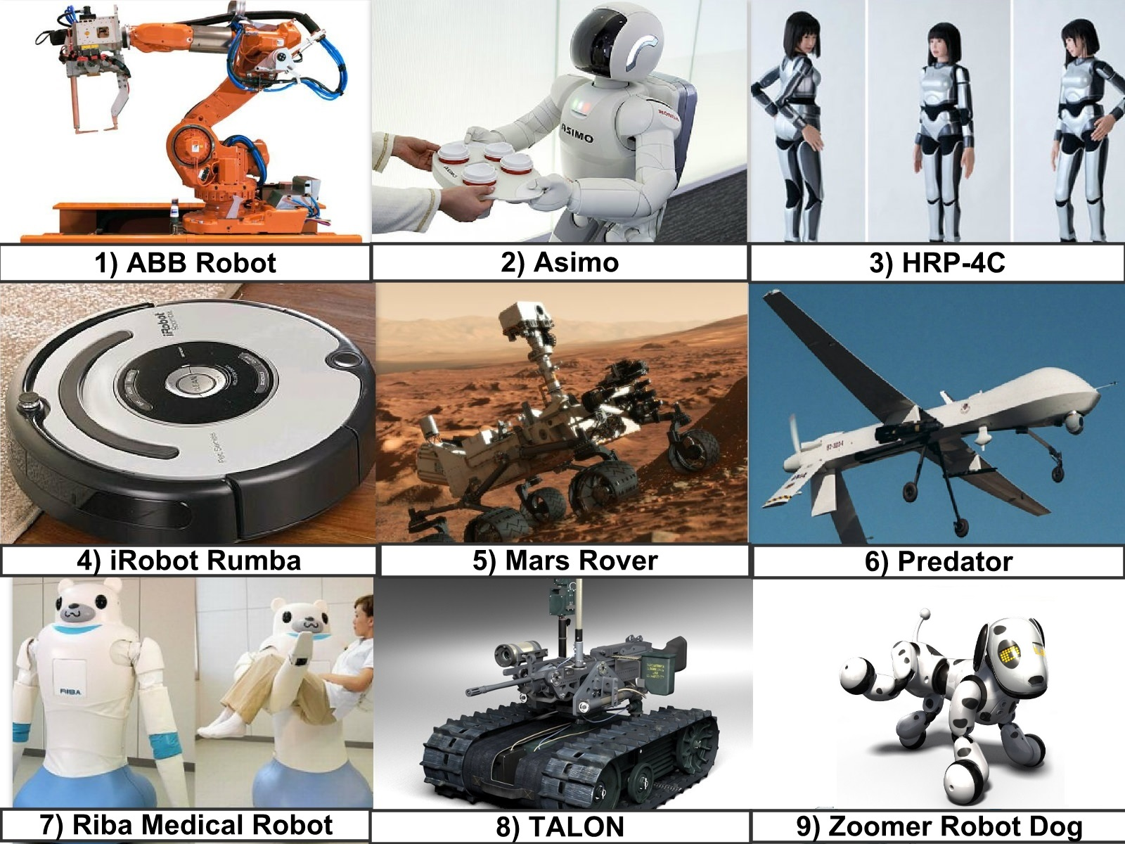 Robot Classification By Application