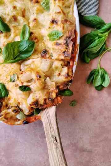 De beste vegetarische lasagne