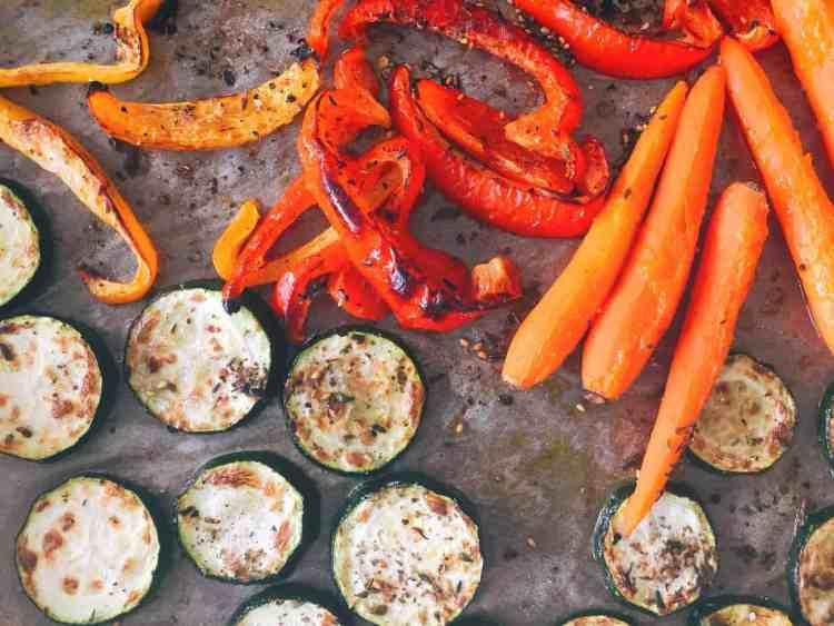 gegrilde groenten uit de oven - foxilicious hoofdgerecht