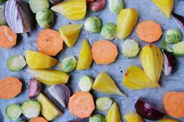Gegrilde groente uit de oven