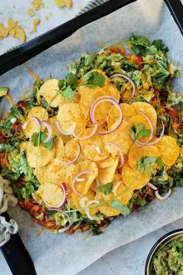 Mexicaanse ovenschotel vegetarisch