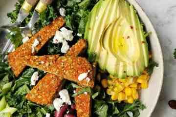 Maaltijdsalade boerenkool salade