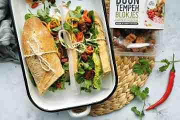Broodje gezond met tempeh