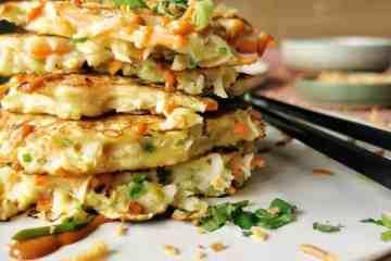 Groente pannenkoekjes vegetarisch