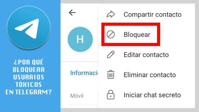 ¿Por qué debería bloquear a los usuarios tóxicos de su Telegram? Razones para hacerlo