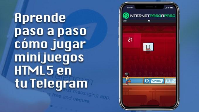 Aprende paso a paso cómo jugar minijuegos HTML5 en tu Telegram desde Android o iOS