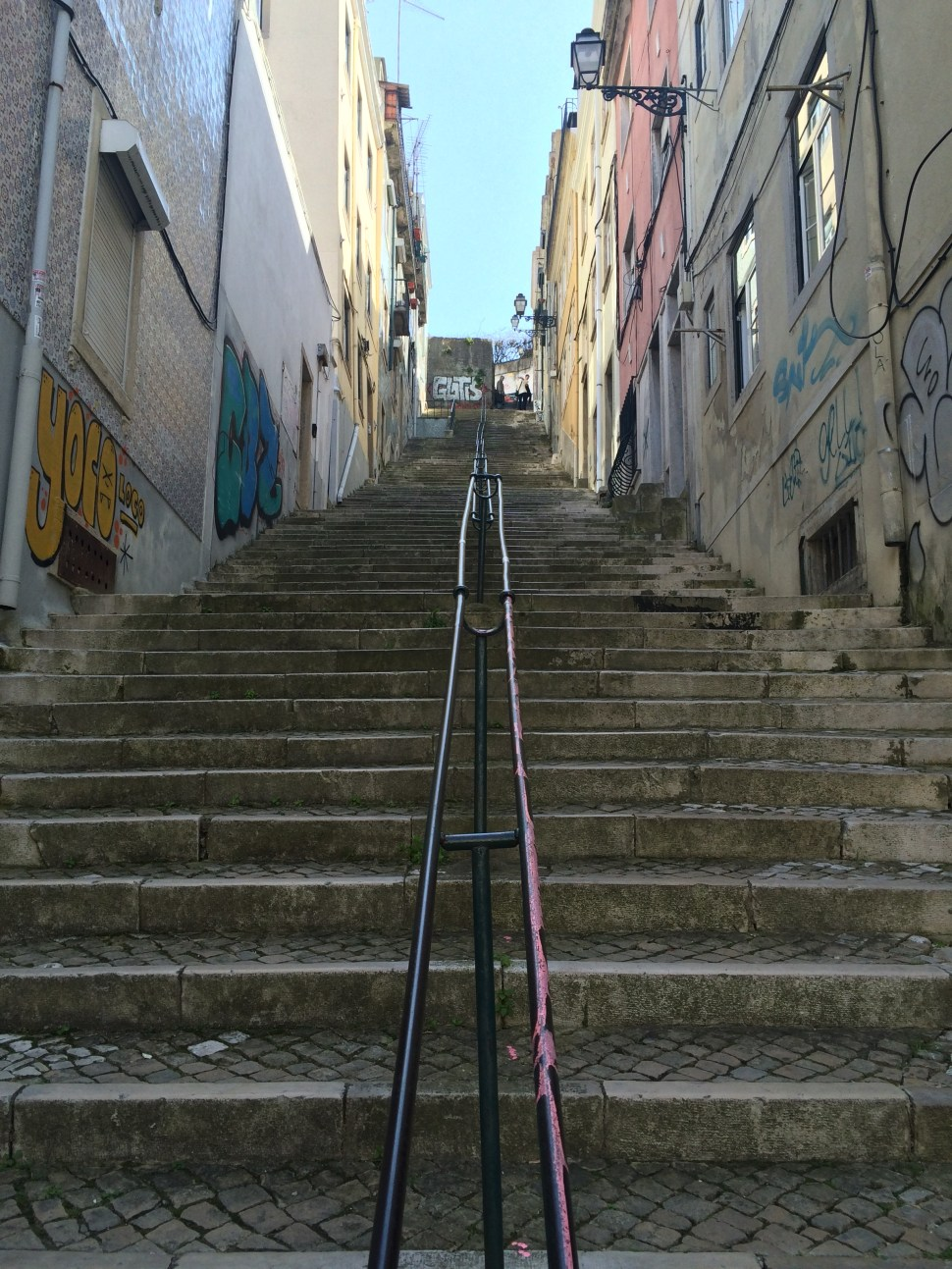 Steps, steps, and more steps