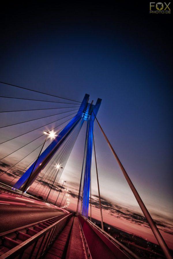 Brücke - Ludwigshafen - HDR