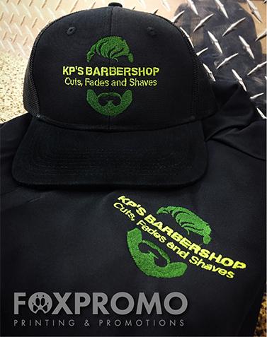 KP's Barbershop Embroidery