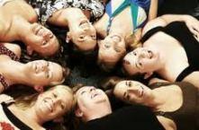woman circle