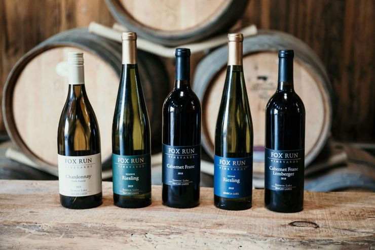 Fox Run wines available to wine club members