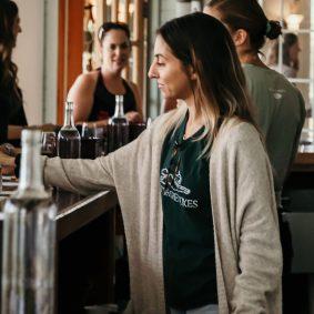 MacKenzie Stanton, tasting room associate at Fox Run