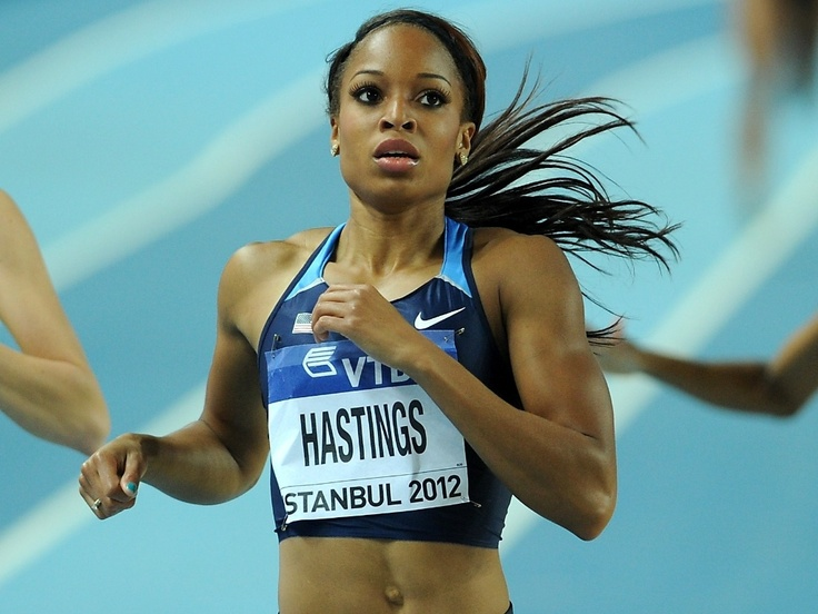 Natasha Hastings; Inspiring others, as well as staying true to herself