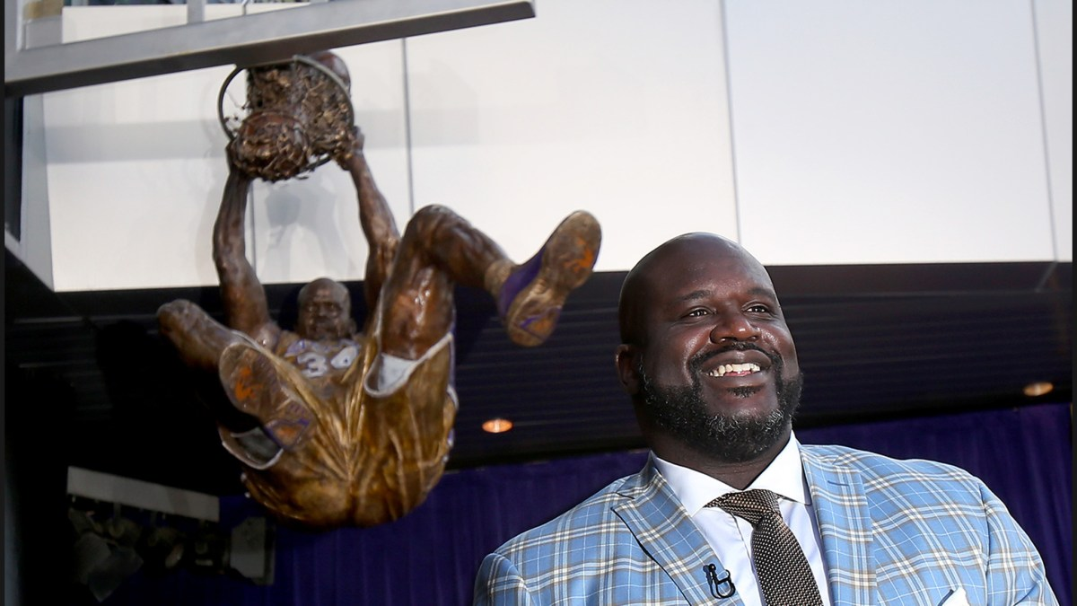 Shaquille O'Neal Got Immortalized