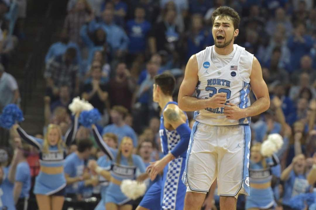 Final Four Bound: #1 North Carolina edges out #2 Kentucky 75-73