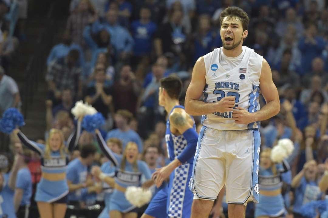 Final Four Bound: #1 North Carolina edges out #2 Kentucky 75-73