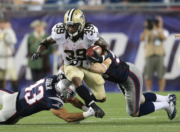 Saints' running back Travaris Cadet Optimistic about his future