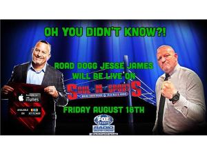 #LockItUp SummerSlam show w/ Road Dogg Jesse James