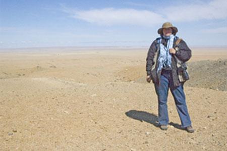 """Me in Mongolia"", Ikh Nartiin Chuluu Nature Reserve"