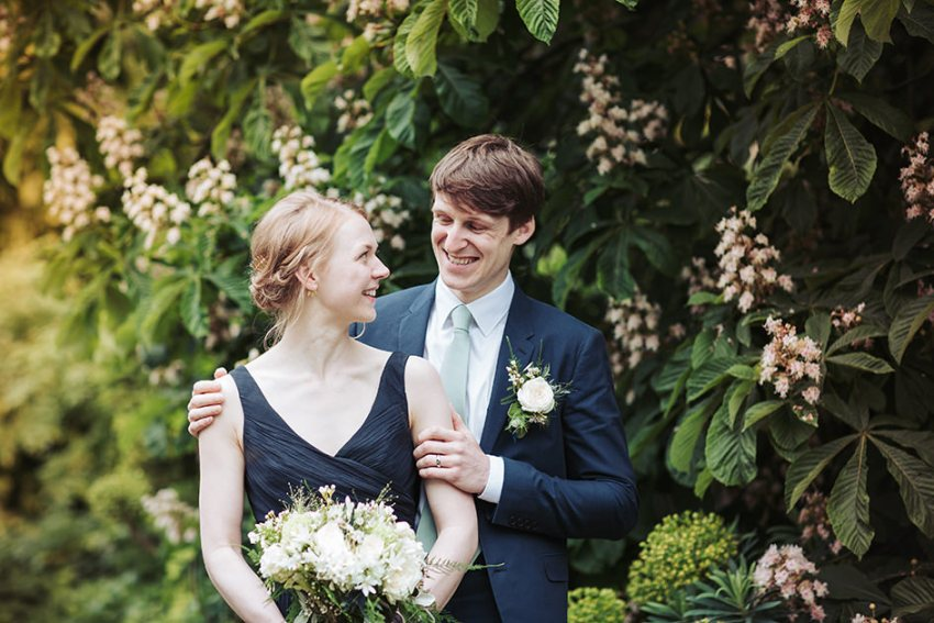 York wedding photographer - hospitium museum gardens - North Yorkshire