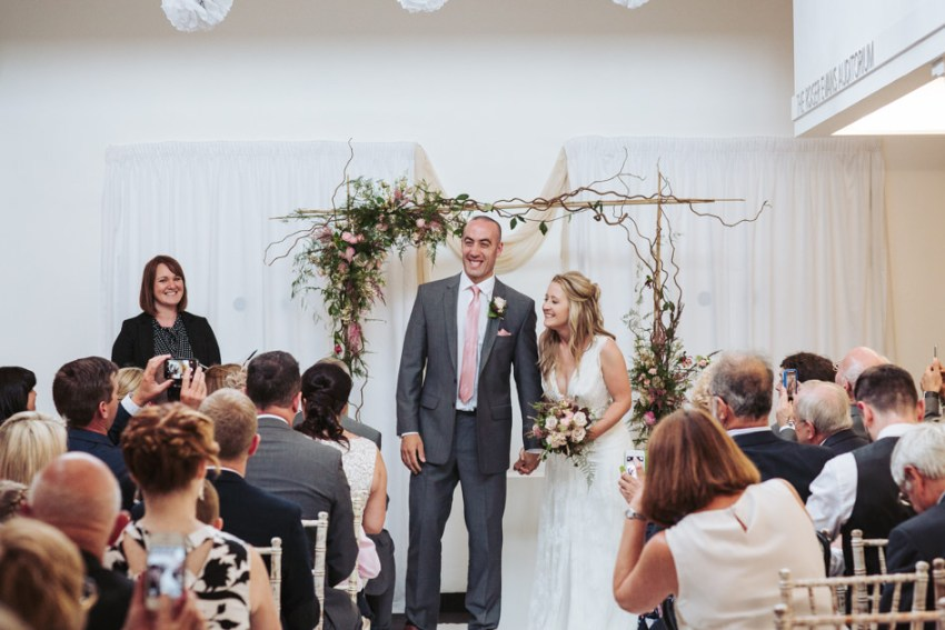 Rustic Yorkshire Sculpture Park Wedding by Fox Tail Photography