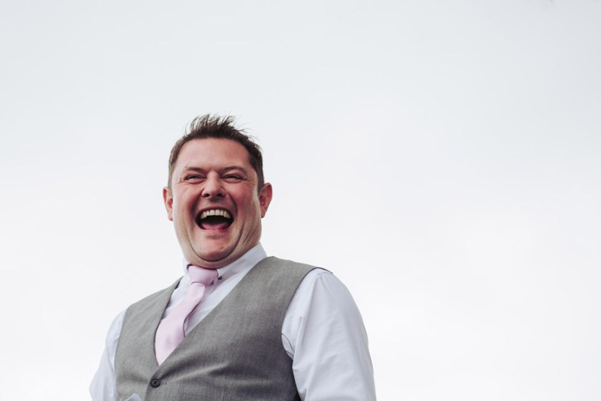 Wedding speeches and laughter | Yorkshire wedding