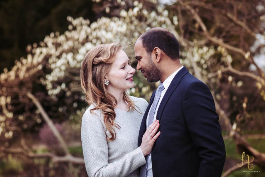 Cliveden House Wedding Photographer | Bride and groom in the gardens