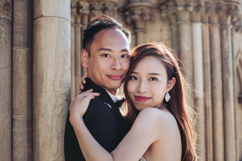 Chinese pre wedding photographer York. Best UK wedding photography.