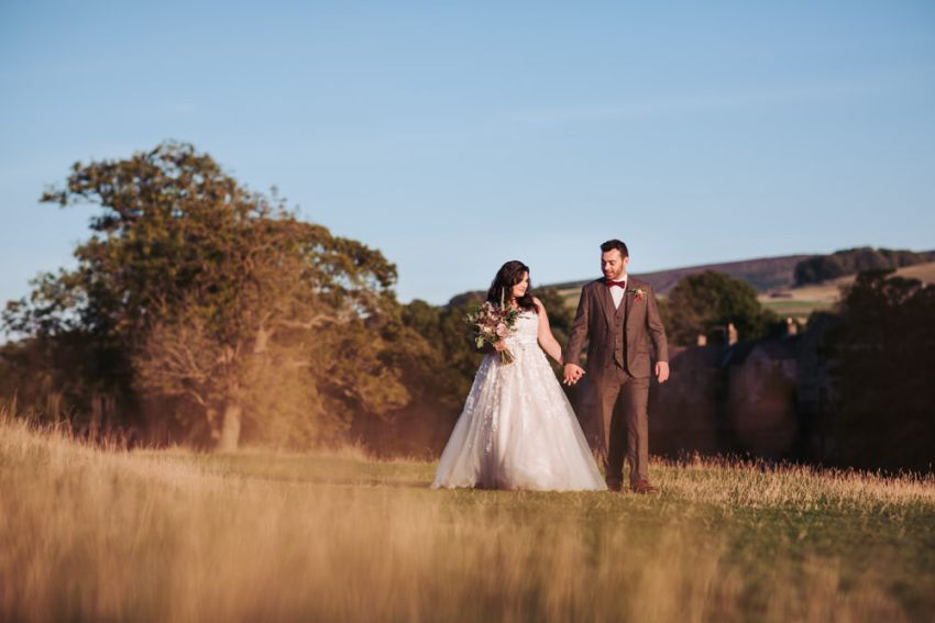 Bolton Abbey wedding photography, Skipton.