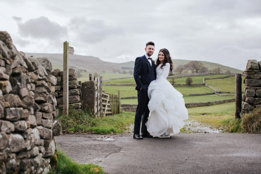 Best UK wedding photography. North Yorkshire Dales wedding photographer.