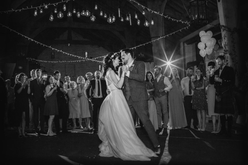 First dance in the Airedale Barn.