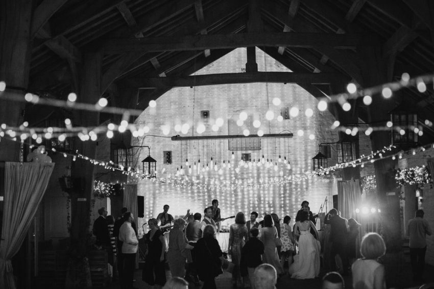 East Riddlesden Hall Rustic barn wedding venue, the Airedale barn. In Yorkshire, near Leeds.