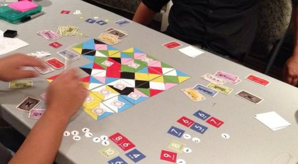 Lanterns PnP worked with Ticket to Ride cards