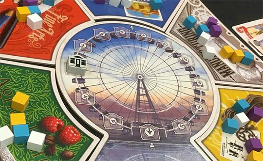 World's Fair 1893 - Ferris Wheel Board