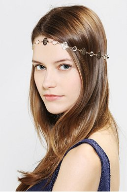 Filigree Headwrap, 14.00 via Urban Outfitters
