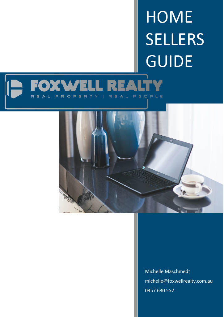 Home Sellers Guide Cover Page