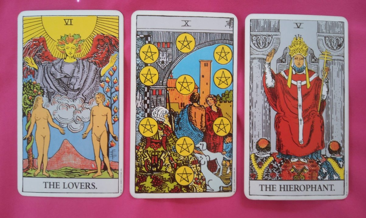 daily online soul purpose tarot reading