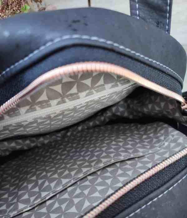 ronde kurk tas binnenkant